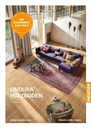 MEISTER Lindura-Holzboden