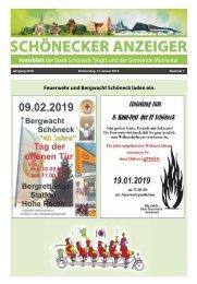 Schönecker Anzeiger Januar 2019