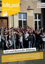 bdkj.pool 1/2019: Zeit und Raum für Bildung