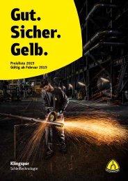 Preisliste 2019 - Deutschland