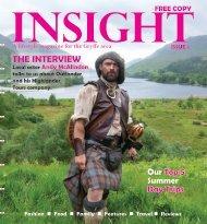 INSIGHT Magazine - Issue 1