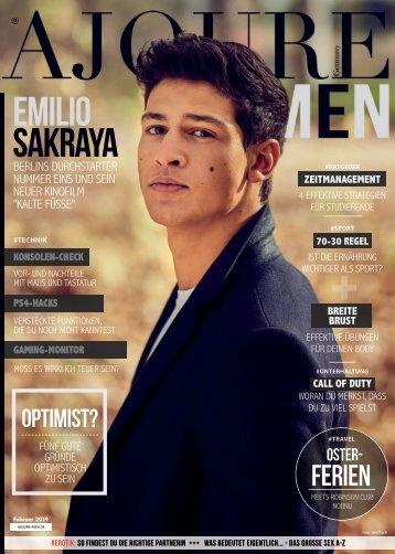 AJOURE´ Men Magazin Februar 2019