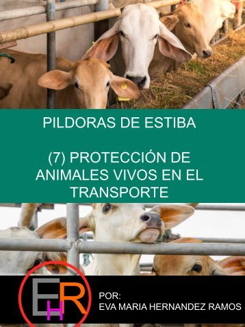 PILDORAS DE ESTIBA 7. TRANSPORTE DE ANIMALES VIVOS_por EVA HERNANDEZ RAMOS