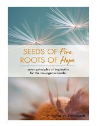 Seeds of Fire, Roots of Hope Seven Principles of Inspiration