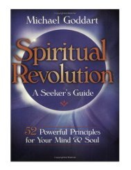 Spiritual Revolution A Seeker's Guide 52 Powerful Principles
