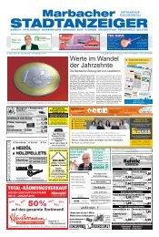 Marbacher Stadtanzeiger KW 3/2019