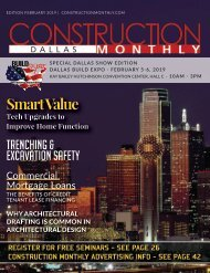 Dallas Construction Monthly February 2019