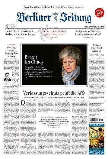 Berliner Zeitung 16.01.2019