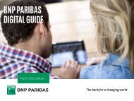PNB Paribas Digital Guide