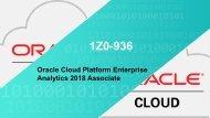 Oracle 1z0-936 Exam Questions Braindumps