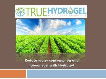 Use the best Hydrogel