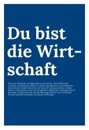 Du bist die Wirtschaft - KMU- und Gewerbeverband Kanton Luzern