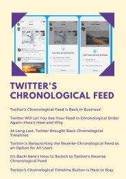 Twitter's Chronological Feed