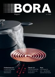 BORA Magazin 01|2019 – Deutsch