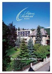 Rüters Parkhotel Willingen - Hausprospekt