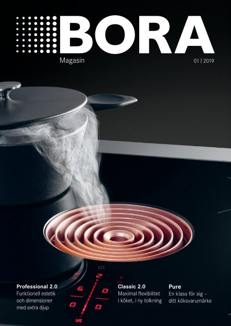 BORA Magazine 01|2019 – Swedish