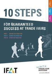 IFAT // 10 steps for guaranteed success at trade fairs