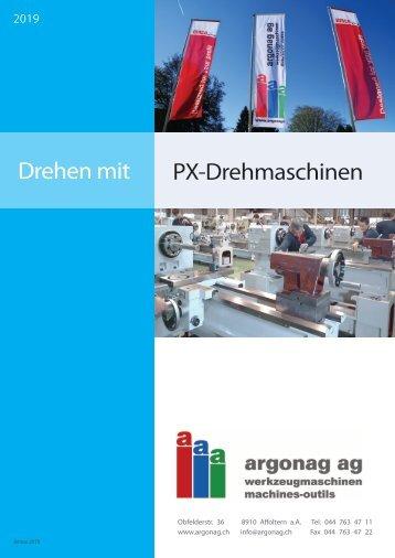 Drehmaschinen PX-D-2019