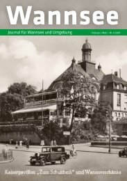 Wannsee Journal Feb/Mrz 2019