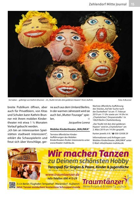 Zehlendorf Mitte Journal Feb/Mrz 2019
