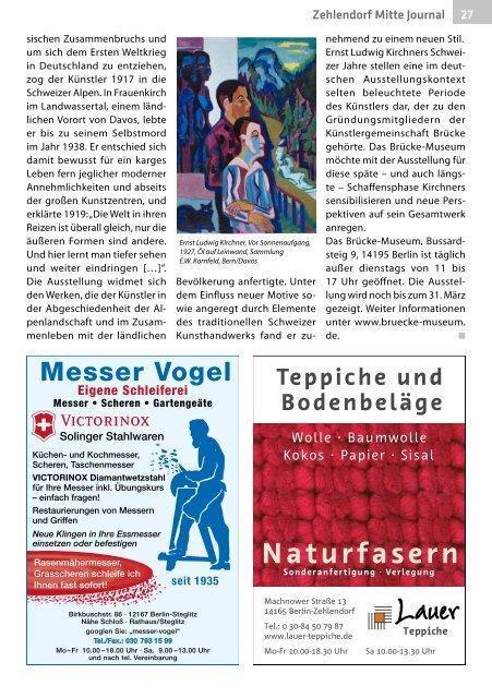 Zehlendorf Mitte Journal Feb/Mrz 2019