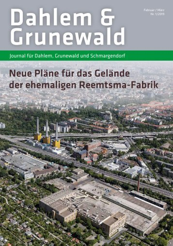 Dahlem & Grunewald Journal Feb/Mrz 2019