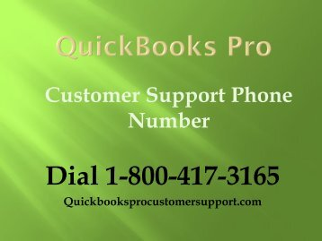 QuickBooks Pro Customer Support Phone Number 1-800-417-3165 To Fix Memory Install Issue In QB Pro