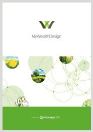 My Wealth Design User Brochure