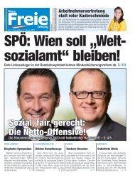 SPÖ: Wien soll