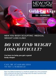 New You Body Sculpting - medical weight loss clinic