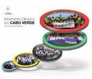 Livro Movimento Olímpico em Cabo Verde - 30 anos de história