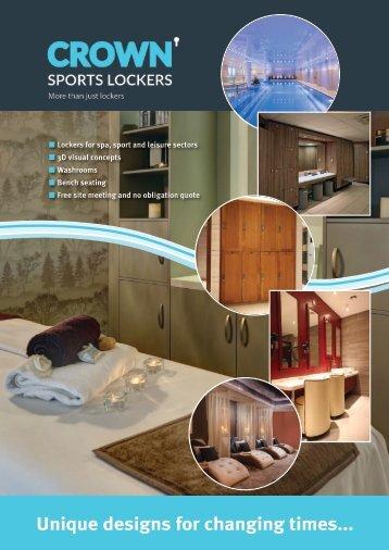 Crown Lockers Brochure