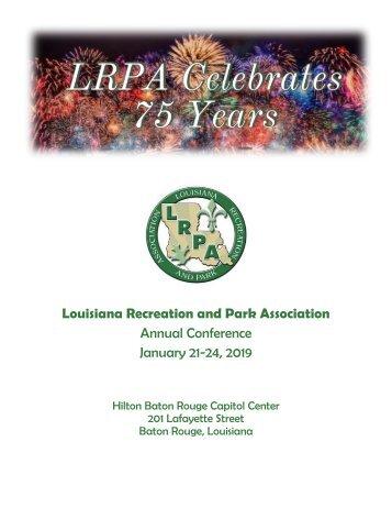 2019 LRPA Conference Program