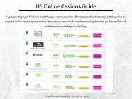 US Online Casinos Guide