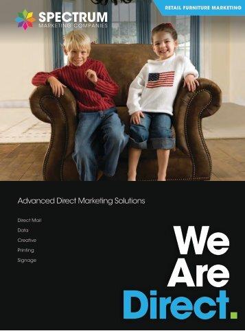 Spectrum Marketing Furniture Direct Mail Catalog