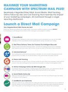 Spectrum Marketing Furniture Direct Mail Catalog - Page 3