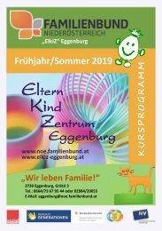 ElkiZ Frühjahrsprogramm 2019