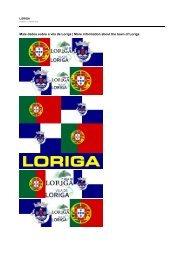 História de Loriga – History of Loriga _ LORIGA – PORTUGAL