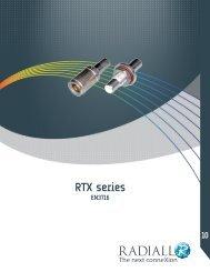 RTX series RTX series - Radiall