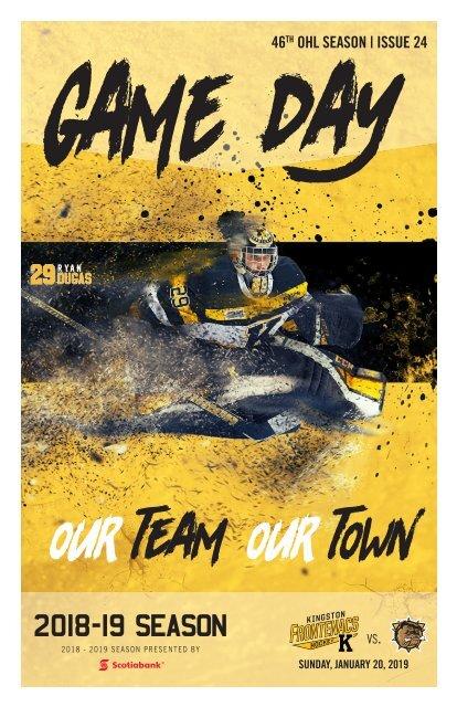 Kingston Frontenacs GameDay January 20, 2019