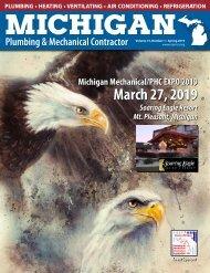 Michigan Plumbing & Mechanical Contractor Spring 2019