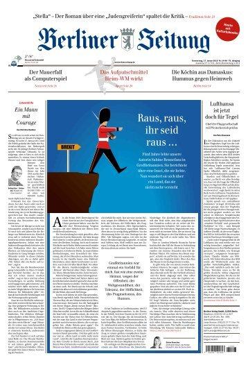 Berliner Zeitung 17.01.2019
