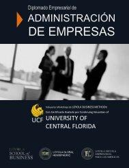 Diplomado Empresarial en Administración de Empresas - Loyola Business School