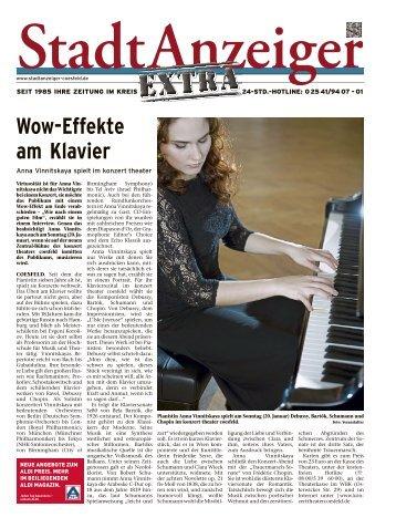 Stadtanzeiger Extra kw 3