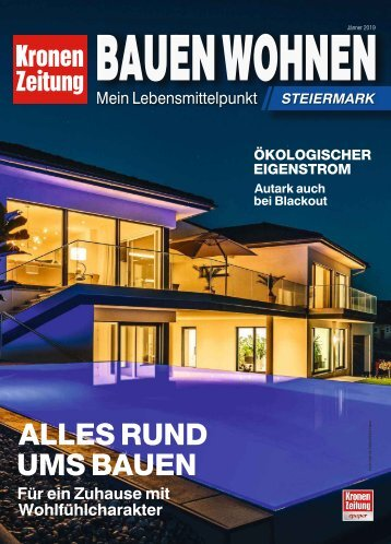 Bauen Wohnen Steiermark 2019-01-13
