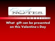 Gifts for Valentine's Day - KindNotes