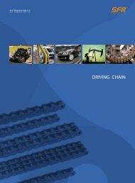 SFR Driving chain catalogue 2019 / 2020