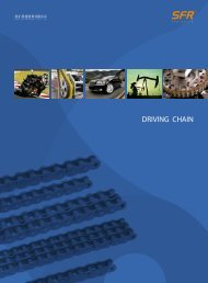 SFR Driving chain catalogue 2019 / 2020