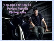 Top Tips for How to perfect Portrait Photography-converted