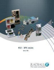 NSX - BPX series 4 - Radiall